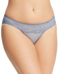 WACOAL 843295 VIVID ENCOUNTER Bikini Panty LILAC GRAY NWT $28