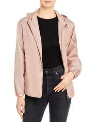 Moncler Alexandrite Hooded Jacket - Pink