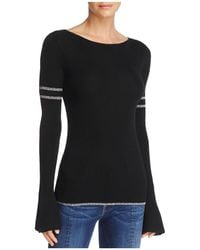 FRAME - Rugby Bell-sleeve Merino Wool Sweater - Lyst