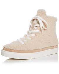 Aqua X Scout The City Teddy High Top Trainers - White