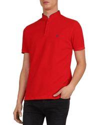 The Kooples - Piqué Regular Fit Polo Shirt - Lyst