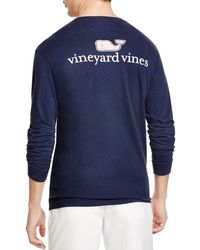 Vineyard Vines - Signature Whale Long Sleeve Tee - Lyst