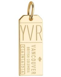 Jet Set Candy - Canada Yvr Luggage Tag Charm - Lyst