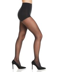 DKNY Comfort Luxe Control Top Tights - Gray