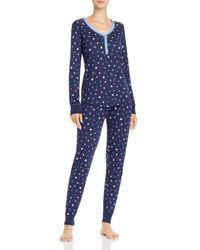 Aqua Sleep Thermal Pyjama Set - Blue