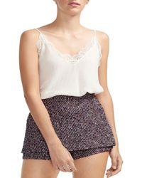 Maje - Tweed Shorts - Lyst