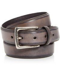 John Varvatos - Men's Distressed Leather Belt - Lyst