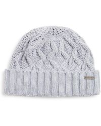 Michael Kors - Cable - Knit Cuff Hat - Lyst