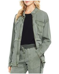 Vince Camuto - Twill Utility Jacket - Lyst