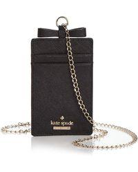 Kate Spade - Cameron Street Lanyard Card Case - Lyst