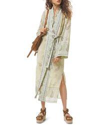 MICHAEL Michael Kors - Paisley Kimono Dress - Lyst