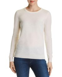 C By Bloomingdale's - Crewneck Cashmere Jumper - Lyst