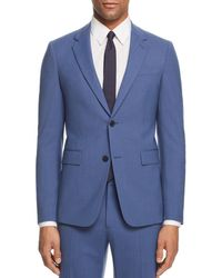 Theory Chambers Slim Fit Suit Jacket - Blue