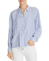 Current/Elliott The Emmy Blouse - Blue