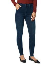 Joe's Jeans The Hi Honey Skinny Ankle Jeans In Mesa - Blue