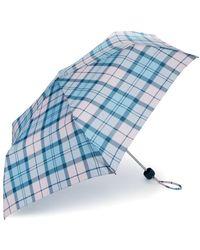 Barbour Portree Tartan Umbrella - Blue