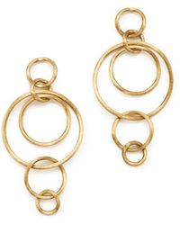 Marco Bicego - 18k Yellow Gold Luce Link Drop Earrings - Lyst
