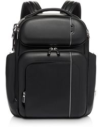 Tumi 117334 Barker Backpack Leather - Black