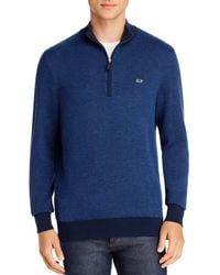 Vineyard Vines Half - Zip Jumper - Blue