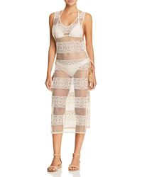 Pilyq - Joy Crocheted Lace Dress Swim Cover - Up - Lyst