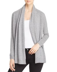 C By Bloomingdale's - Open - Front Cashmere Cardigan - Lyst