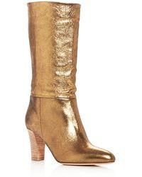 SJP by Sarah Jessica Parker - Women's Reign High - Heel Boots - Lyst