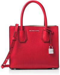 684ad47b3b43 Michael Michael Kors Studio Mercer Floral Patchwork Medium Leather ...