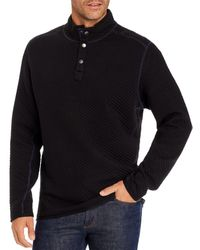 Tommy Bahama Quilted Sweatshirt - Black