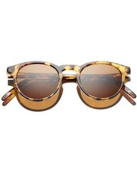 Dick Moby Women's Seattle Pantos Sunglasses - Brown