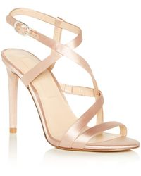 Imagine Vince Camuto Women's Ramsey Strappy High - Heel Sandals - Natural
