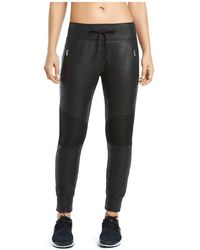 2xist - Glazed Terry Moto Jogger Trousers - Lyst