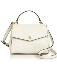 Tory Burch - Robinson Small Leather Crossbody - Lyst