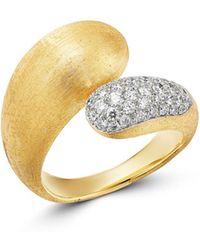 Marco Bicego 18k Yellow Gold & 18k White Gold Lucia Diamond Ring - Metallic