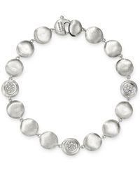 Marco Bicego - 18k White Gold Jaipur Diamond Bracelet - Lyst