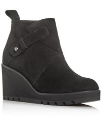 Eileen Fisher Tinker Wedge Bootie - Black