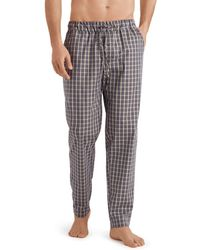 Hanro Night And Day Woven Lounge Trousers - Gray