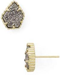 Kendra Scott Tessa Stud Earrings - Metallic