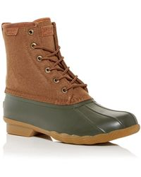 Sperry Top-Sider Saltwater Duck Boots - Brown
