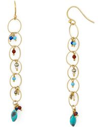 Chan Luu - Linear Links Drop Earrings - Lyst