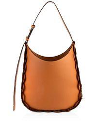 Chloé Darryl Medium Leather Hobo - Brown