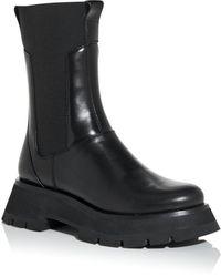 3.1 Phillip Lim Women's Kate Platform Combat Boots - Black