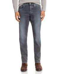 G-Star RAW - G - Star Raw 3301 Slim Fit Jeans In Dark Aged Cobler - Lyst