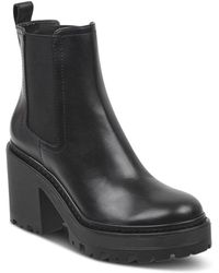 Kendall + Kylie - Kendall And Kylie Women's Jett Round Toe Platform Booties - Lyst