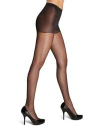 Hue - Tulle Dot Sheer Tights - Lyst