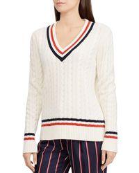 Ralph Lauren - Lauren Signature Cricket Sweater - Lyst