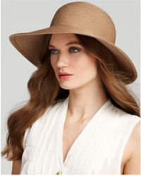 Eric Javits - Packable Squishee Iv Short Brim Sun Hat - Lyst