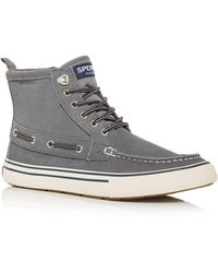 Sperry Top-Sider Bahama Storm High Top Sneakers - Gray