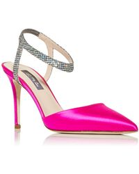SJP by Sarah Jessica Parker Women's Single Pointed Toe Court Shoes - Pink