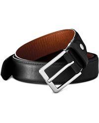 Shinola - Brindle Leather Bombe Tab Belt - Lyst