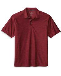 Tommy Bahama Tech Polo Shirt - Red
